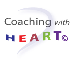 Coaching with HEART graphic